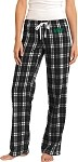 Ladies Flannel Plaid Pants