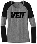 Ladies Tri-Blend Performance Baseball Tee